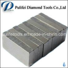 Steinbruch-Ausschnitt sah großes Blatt-Diamant-Segment für Block