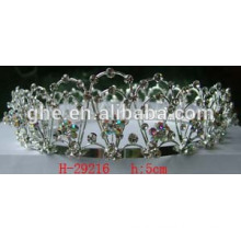 plastic tiara comb snowflake tiara for christmas pageant holiday crown rich quality fashion tiaras for women