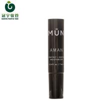 Tube en plastique cosmétique de 7ml pour l'emballage de crème hydratante