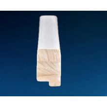 Blanco Componentes de obturador de madera de pintura, Fj componentes de obturador de pino