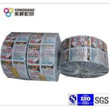 Impresión personalizada de plástico de embalaje rodillo de película
