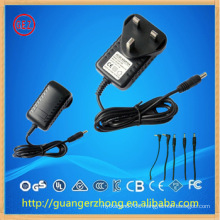 12W AC adapter with UK plug CE approval