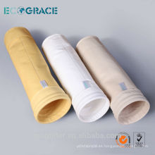 Aramid colector de polvo filtro de polvo filtro de bolsa bolsa