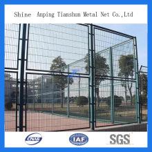 Покрынная PVC сваренная спортивная площадка забор (ТС-L105)