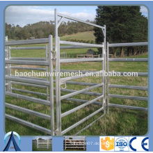 Super Heavy Duty Vieh Panel 6 Bars Oval Tubes Vieh Gates Panel / Vieh Tafeln