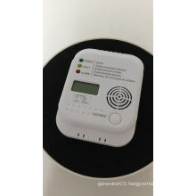 LCD Displayed Battery Powered Carbon Monoxide Detector