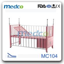 Lit d'hôpital pour enfants à chaud avec MC104 de haute qualité