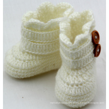 Baby Infant Handmade Crochet Knit Booties Boots Shoes