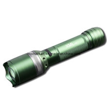 Rotating Focusing 1X18650 Batt 6 Modes T33 Flashlight