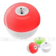 Sensor de luz da noite do diodo emissor de luz da forma de Apple controlado pelo sopro (lnt011a)