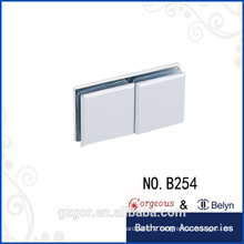 Square berel 180 degrees glass clamp hinge for shower room