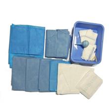 Einweg-Packung mit sterilem chirurgischem Kaiserschnitt