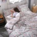 couvre-lit en microfibre