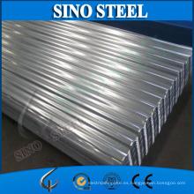 Material de cubierta de acero corrugado galvanizado revestido del cinc G30