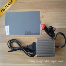 black pdlc smart film/smart film manufacturer/ EB GLASS Dimmable smart tint/ Electric Smart film car window film