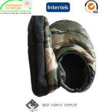 PU-beschichtetes Camo Taft-Gewebe für im Freienzelt-warme Schuhe