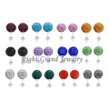 2014 New Statement Jewelry Crystal Ball Ear Studs