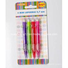 4PCS mini mechanischer Bleistift mit Radiergummi Au116