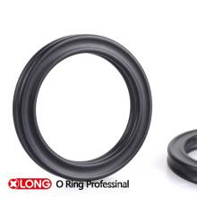 Hochwertiger Elastizitätsgummi Viton Quad Ring