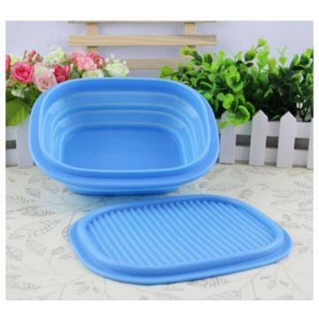 Candy Color Shock-proof Silicone Foldable Kids Bowl