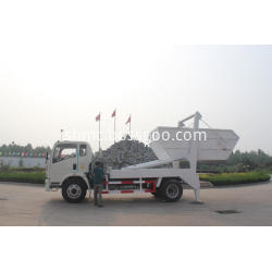 refuse collector swing arm garbage truck
