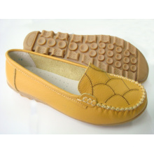 Classic Comfort Lady Shoes with Flat TPR Outsole (SNL-11-001)
