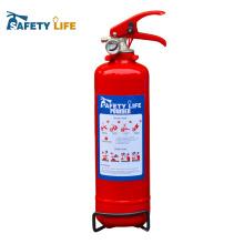 1KG Extintor de incêndio / 1 kg extintor de pó sem etiqueta grudada