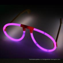 розовая светящаяся палочка очки