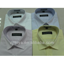 100%высокое качество хлопок мужчины платье бизнес рубашки для мужчин с длинным рукавом FYST-Л
