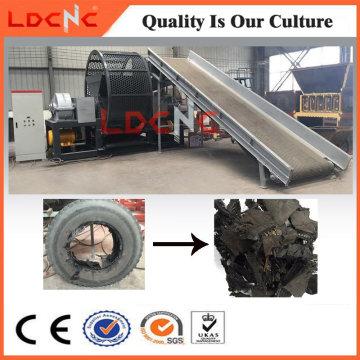Precio de la cortadora de la trituradora de neumáticos del desecho