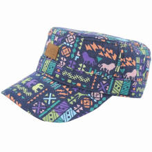 Top Quality Cotton Printed Military Hat / Military Cap / Army Cap