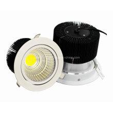 Nouveau 30W COB LED Downlight 60degree Dia160 * H120mm 2900lm