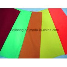 Дешевая цена многократного использования ткани сплетенная равнина покрашенная ткань T / C
