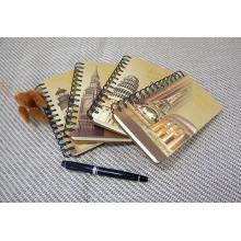 Material de escritório escolar / escritório Impressão em espiral de caderno