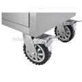 Caja de herramientas de camión de acero inoxidable personalizada de 26 '' con cajones y ruedas
