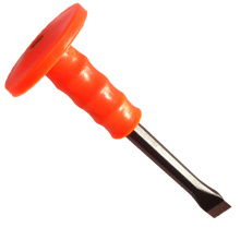 Cold Chisel with Plastic Handle Round Plated