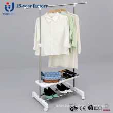 Single-Pole Telescopic Clothes Hanger