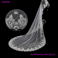 White Cheap and Beautiful 1MW * 3ml Wedding Bridal Veils