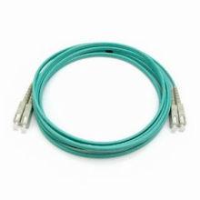 Buen Precio Sc a Sc Multi-Modo Om3 puente de fibra óptica