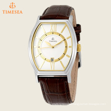 Men′s Strap Watch with Silver/White Dial 72551