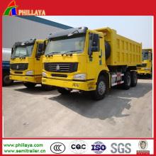 Camion à benne basculante Sinotruk 371HP HOWO A7 6X4