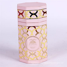 Custom made chocolate packaging cylinder gift paper box