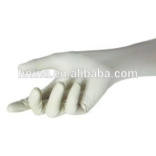 Latex surgical glove powder free