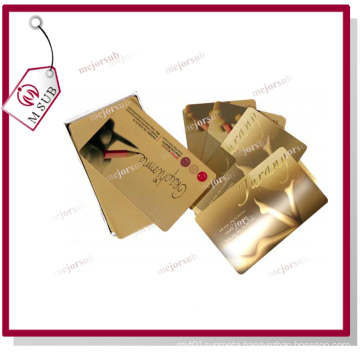 Sublimation Mirror Gold Metal Sheet for Brand