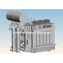 Transformador del horno de la aleación de hierro / transformador de Eaf Distribución de la energía de la planta de acero