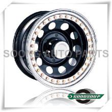 """Modular-Beadlock Wheels GS-30104 Stahlrad von 15 """"bis 17"""" mit verschiedenen PCD, Offset und Vent Loch"""