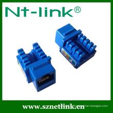 Shenzhen Netlink 90 degrés RJ45 UTP Cat6 Keystone Jack