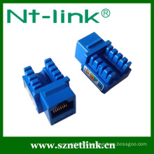 Shenzhen Netlink 90 Degree RJ45 UTP Cat6 Keystone Jack