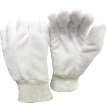 A cozinha NMSAFETY usa 100% luvas de trabalho de algodão e terry