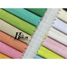 Tecido tecido de algodão de sarja de alta densidade 100 para desgaste de trabalho ou camisa de trabalho alibaba